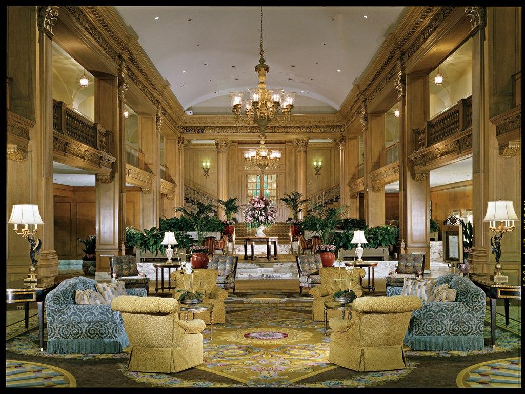 Fairmont Olympic Hotel Interior